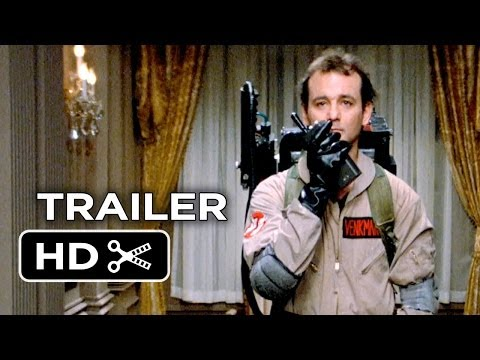 Ghostbusters 30th Anniversary Re-Release Trailer (2014) Bill Murray, Sigourney Weaver Comedy HD