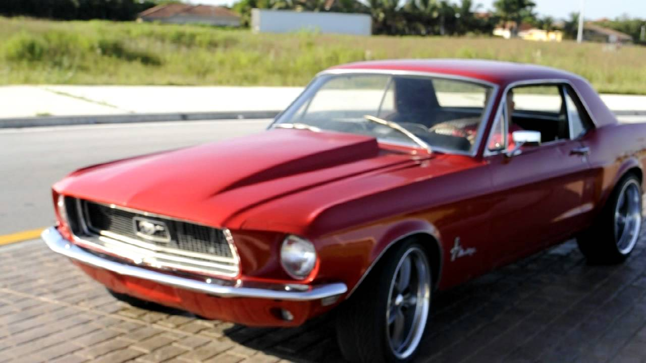 1968 Ford Mustang For Sale >> 1968 Ford Mustang 347 Stroker 400+ hp - YouTube