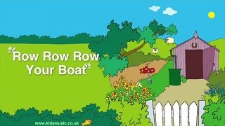 Kidzone - Row Row Row Your Boat