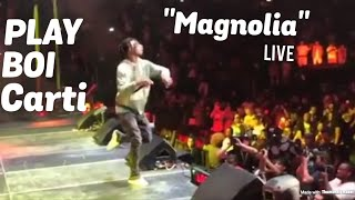 "PlayBoiCarti Performs Hit Song ""Magnolia"" With Lil Uzi Vert"