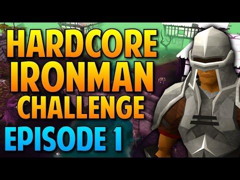 Runescape - Hardcore Ironman Challenge: Episode 1 - Cows Are EVIL!