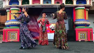 Русское народное струнное трио  Измайловский кремль стиль a la russie а ля рус