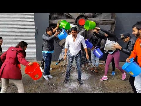 Bollywood Celebrities take the ALS Ice Bucket Water Challenge!