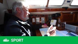 Golden Globe Race – La visite du bateau de Jean-Luc Van den Heede