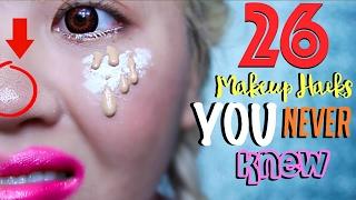 Download Lagu 26 MAKEUP Hacks YOU NEVER Knew About! Gratis STAFABAND
