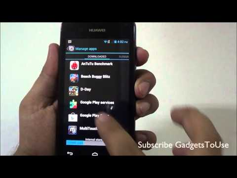 Huawei Ascend Y300 Full In Depth Review HD   Benchmarks, Camera and Performance Overview