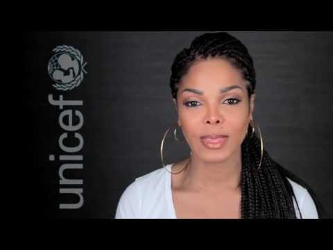 JANET JACKSON for UNICEF