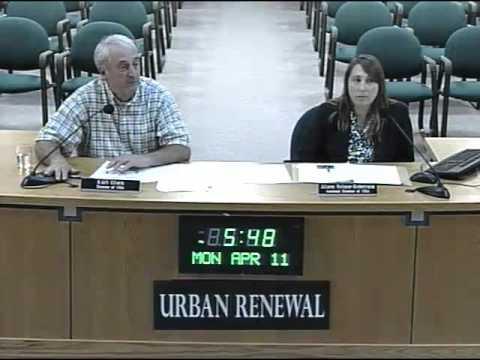 2016-04-11 - Urban Renewal Agency - Regular Meeting - Lincoln City, OR