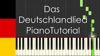 Das Deutschlandlied (Germany national anthem) - Piano Tutorial