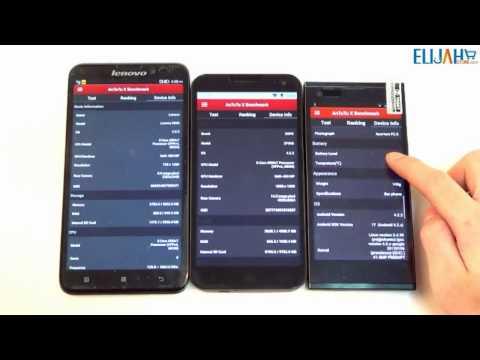 THL T100S vs ZOPO ZP998 vs Lenovo S939 Octa Core MTK6592 Smartphone First Detailed Reviews