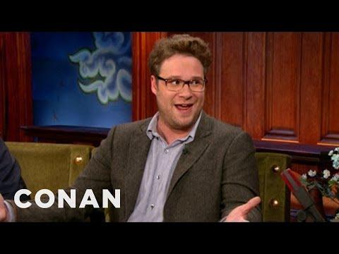 Seth Rogen's Hangover Flight From Hell - CONAN on TBS 03:54 Mins