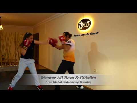 Master Ali Reza & Gülsüm: Arad Global Club, Boxing Training, Eskişehir Boks