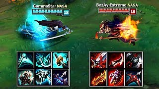 BLUE YASUO vs RED YASUO FULL BUILD FIGHTS & Best Moments!