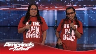 """Lil Mike and Funny Bone - Perform Original Song """"Do the Rain Dance"""" - America's Got Talent 2013"""