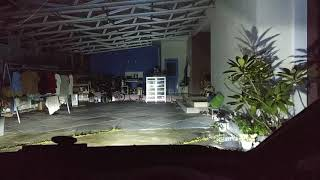 Vlog 3#Led foglamp 3 color H11 HONDA JAZZ
