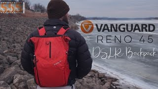 Review: Vanguard Reno 45 DSLR Camera Backpack | Compact YouTube Video Bag