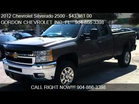 2012 Chevrolet Silverado 2500 4WD Ext Cab 144.2 LT - for sal