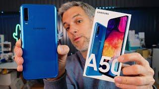 Samsung Galaxy A50 - Unboxing et Premières Impressions