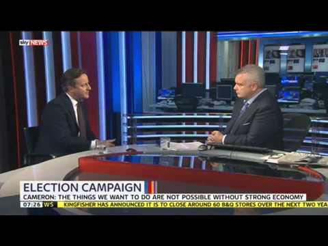 Eamonn Holmes Interviews David Cameron