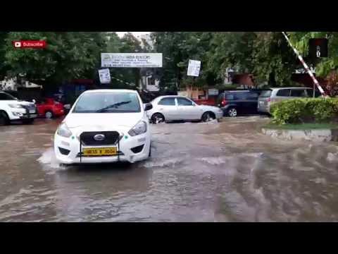 Waterlogging On Delhi Roads After Heavy Rains