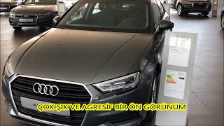 2018 AUDI A3 SEDAN 1.0 TURBO FSI 116 HP DYNAMIC S TRONIC