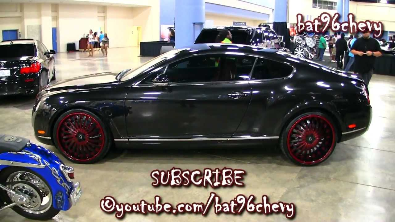 Black Red Bentley Continental Gt Coupe On 22 Quot Forgiatos
