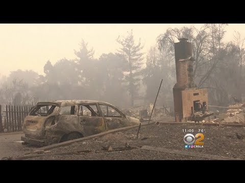 Wine Country Left Unrecognizable By Wildfire