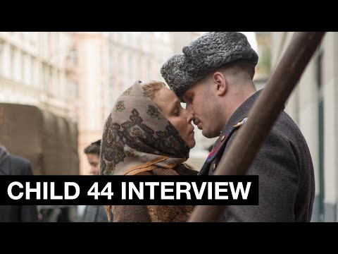 Child 44 Interview - Noomi Rapace