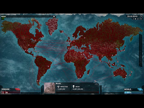 Plague Inc. Evolved - Virus Brutal Walkthrough