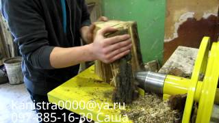 Дровокол для дома и дачи на 220 вольт (Wood splitter for the home and garden)
