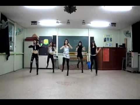 [4minute-huh] Korean High School Girls Dance Cover video
