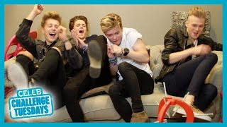 The Vamps Balloon Challenge - Heat Challenge Tuesdays