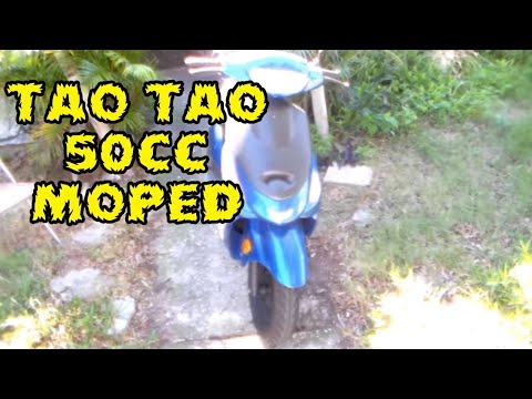 Review of my 2013 Tao Tao 50cc Scooter 100mpg