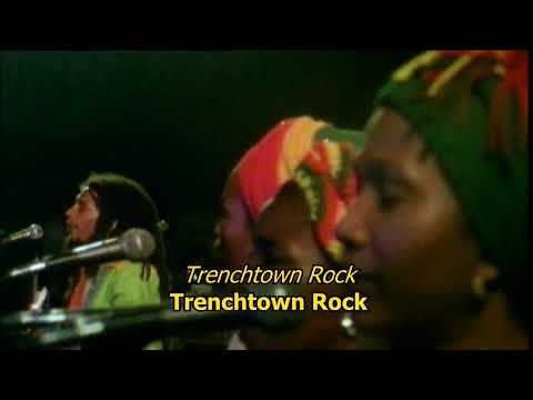 Trenchtown rock - Bob Marley (LYRICS/LETRA) (LIVE reggae)