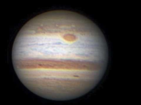 Mars Saturn Amp Jupiter Through My Telescope Youtube