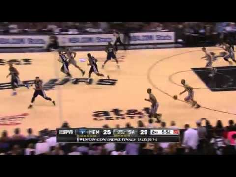 NBA Memphis Grizzlies Vs San Antonio Spurs - Game 2 | Spurs Highlights