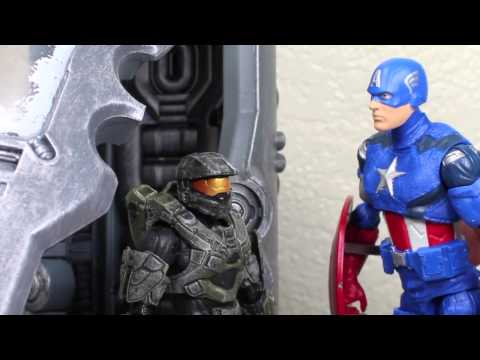 Halo 4 Cryonic Master Chief With Cryotube McFarlane Toys Video Game Action Figure Review