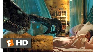 Jurassic World: Fallen Kingdom (2018) - Indoraptor vs. Blue Scene (8/10) | Movieclips