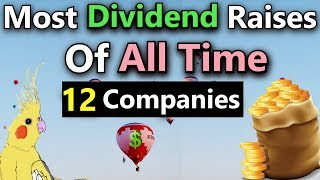 Dividend Investing: (Best Dividend Stocks For Consecutive Dividend Increases in Retirement)