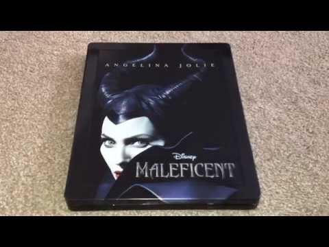 Maleficent UK Blu-Ray steelbook unboxing