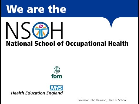 National School of Occupational Health introduction: Professor John Harrison