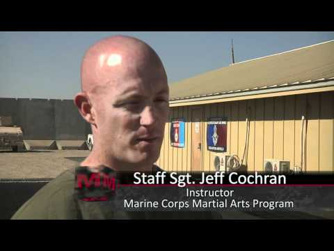 Marines teach Afghan security martial arts basics Image 1