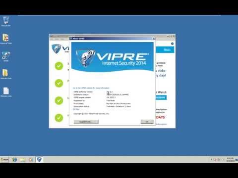 Vipre Internet Security 2014 Final Test and Review