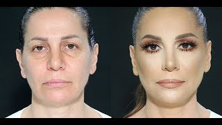 Mature women makeup tutorial by Samer Khouzami