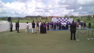 Iskandar Johor Open 2011 Golf Champion Joost Luiten, Sony Xperia Mini ST15i HD 720p video