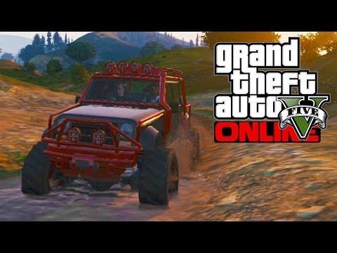 GTA 5 Online - Merryweather Jeep (GTA V)