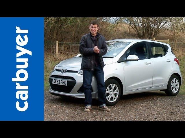 New Hyundai i10 hatchback 2014 review - Carbuyer - YouTube