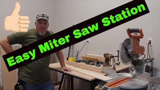 Easy Miter Saw Station inspired by ILTMS