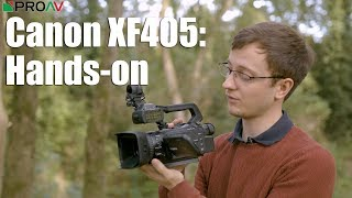 Canon XF405 - Your Questions answered