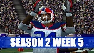 ESPN NFL 2K5 BILLS FRANCHISE - SHUTDOWN - VS VIKINGS (S2W5)